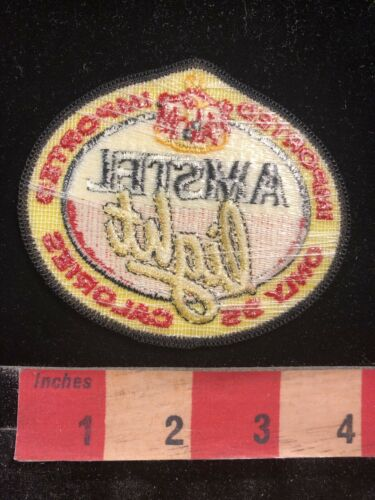 Advertising Patch AMSTEL LIGHT BEER Imported Lager Beer 00AG