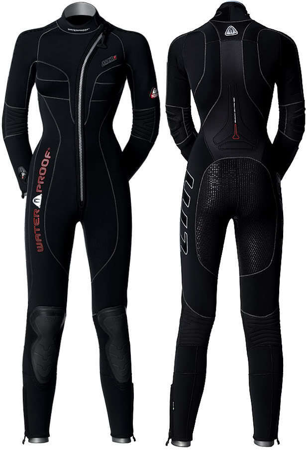 WATERPROOF W1 Ladies 5mm SCUBA DIVING Semi Dry Wetsuit, Medium, RRP .00