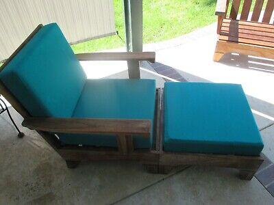 Hawken Teak Patio Pool Outdoor Lounger, Smith And Hawken Teak Patio Furniture