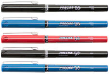 Pilot Precise V5 V7 Rolling Ball Pen Set Red Blue Black 05mm 07mm Needle Point