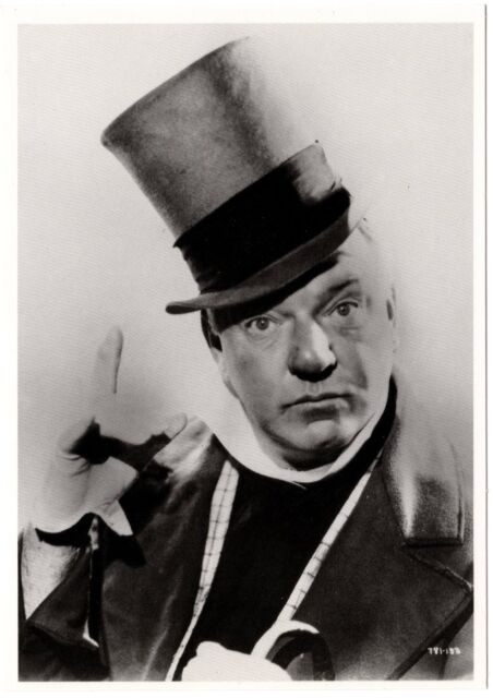 88827fe2184 W.C.Fields - B W Photo - NEW  old stock (4.25 x 6 in. postcard). Out ...
