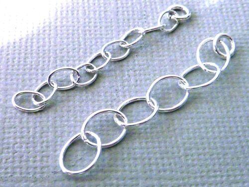925 Sterling Silber Verlängerungskettchen 4 cm lang für Kette 1703