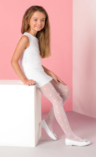 Girls Tights Collection Hosiery Kids Patterned by Gabriella 4-12 years