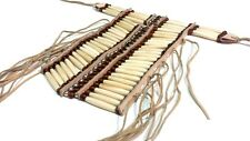 Handmade Native American Style Buffalo Bone Hairpipe Breastplate