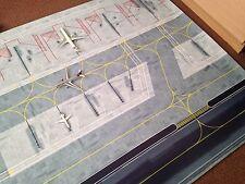 Supersize Model Airport Apron Layout Foil. 841mm x 1189mm. 1/500/1/400