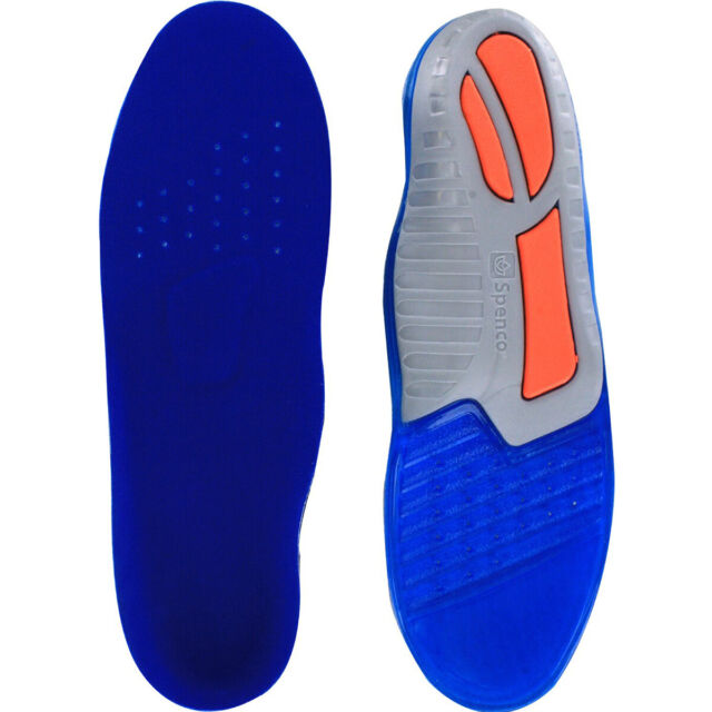#3 Spenco PolySorb Total Support Orthotic Arch Support Insole Men 8-9 Women 9-10