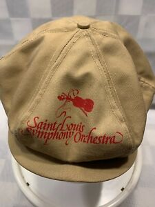 ST-LOUIS-SYMPHONY-ORCHESTRA-Newsboy-Derby-Snapback-Adult-Cap-Hat-Made-in-USA