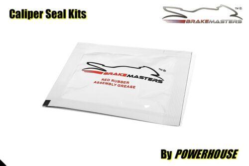 Motorcycle Brake Caliper Rebuild Red Rubber Grease Service Pack Brakemasters 5g