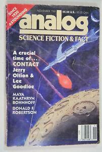 Analog-Science-Fiction-Fact-Nov-1991-Jerry-Oltion-Lee-Goodloe-G-Harry-Stine