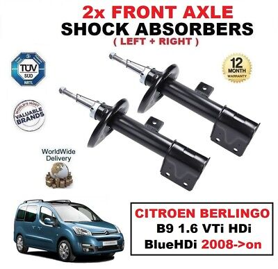 RIGHT SHOCK ABSORBERS FOR PEUGEOT 3008 1.6 2.0 HDi VTi THP 2009-/>on REAR LEFT