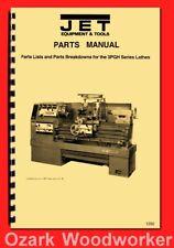 Jet Model 3pgh 14x40 Metal Lathe 1440 Wiring Diagram Amp Parts Manual 1250