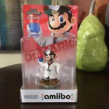 Nintendo Wii Switch Super Smash Brothers Dr. Mario New Sealed Amiibo Figure