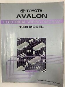 1999 Toyota Avalon Electrical Wiring Diagram Repair Manual ...