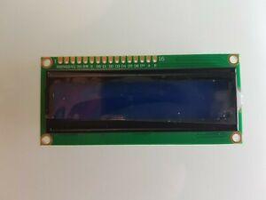 Modulo display lcd per arduino raspberry 16x2 1602 retroilluminato blu hd44780
