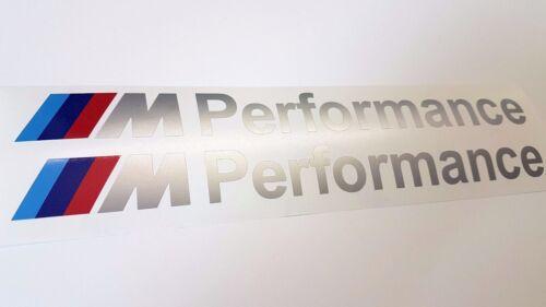 118 120 130 135 E81 E82 E87 E88 F20 BMW M Performance Aufkleber Silber 30cm