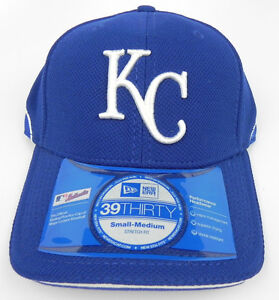 028b0a4a5 Details about KANSAS CITY ROYALS MLB NEW ERA 3930 STRETCH-FIT BP CAP HAT  SIZE ADULT S/M NWT! 3