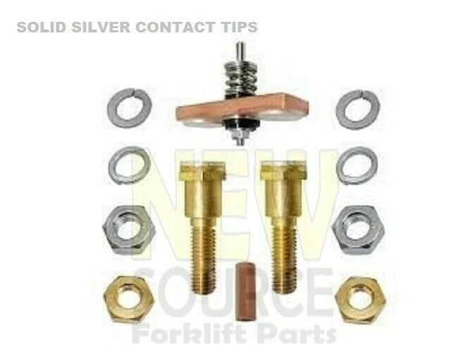 SW200 ALBRIGHT STYLE CONTACTOR SOLENOID REPAIR KIT WITH SILVER CONTACT TIPS