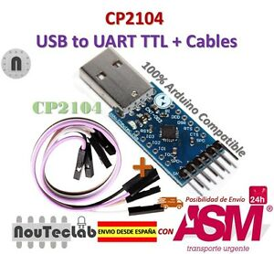 CP2104-USB-to-RS232-TTL-UART-6PIN-Connector-Module-Serial-Converter-for-Arduino