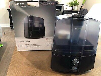 BONECO 7145 Cool Mist Ultrasonic Air Humidifier Black   eBay