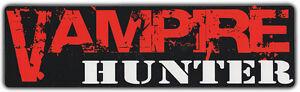 Bumper-Stickers-VAMPIRE-HUNTER-Vampire-Slayer-Folklore