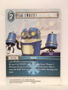 Cid-Woff-4-034R-Final-Fantasy-Ff-TCG-Opus-IV-4-Simple-Carte