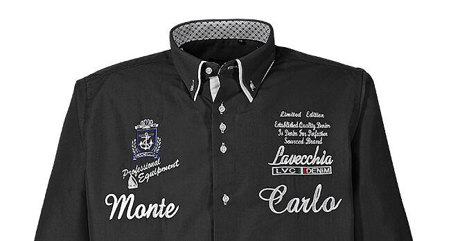 Uomo Taglie Forti Forti Forti Camicia Cameriere Maniche Lunghe Casual 3XL 4XL 5XL 6XL 7XL ( 396ea5