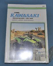1987-2000 Kawasaki KSF250Mojave Clymer Service Shop Repair Manual New In Plastic