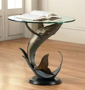 Great Image Is Loading Whale Accent End Table Nautical Coastal Tropical Ocean