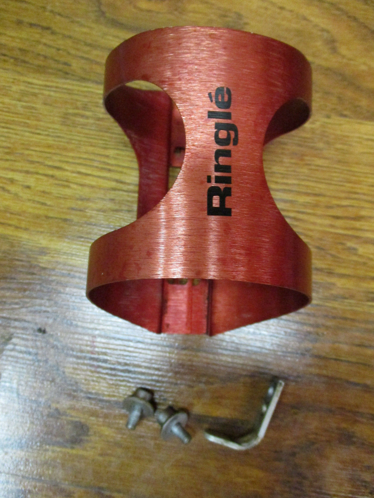 VINTAGE  RINGLE RED ANODIZED WATER BOTTLE CAGE  online shopping and fashion store