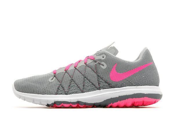 Nike Flex Fury 2 Girls/ femmes Trainer (Variable Sizes) Gris Brand New In Box