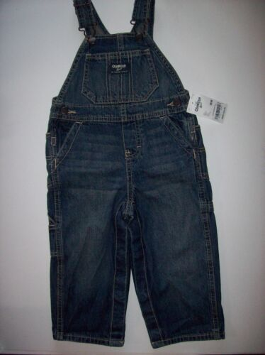 Details about  /Oshkosh B/'gosh Suspender Bib Playsuit Overall Coveral Baby Toddler Select Sz NWT
