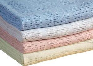 Months Fleece Baby Blankets Pram Crib Moses Basket Boy Girl Unisex 0