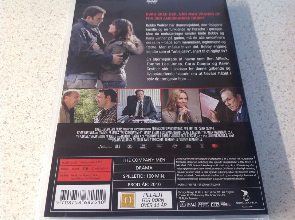 The Company men , DVD, drama