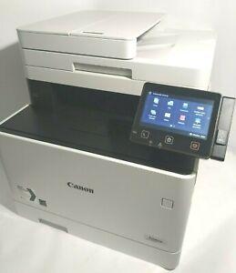 CANON i-SENSYS MF734Cdw STAMPANTE COLORI LASER usb rete MULTIFUNZIONE copia fax
