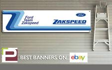 Ford Team Zakspeed Banner, for Workshop / Garage, Rally, Pit Lane, Escort, Capri