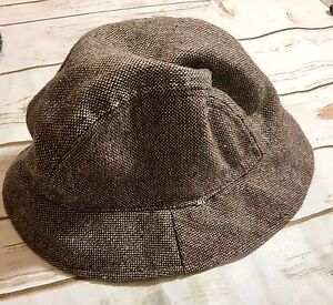 0f5351f736c Image is loading Vintage-August-Hat-Pure-Wool-Size-Blend-Fedora-