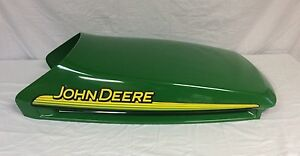 Image Is Loading John Deere Upper Hood Am132529 With Decals For