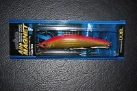 "Yo-Zuri Mag Minnow Duel Aile Magnet Holographic Gold Red 4 1/8"" 105mm 5/8oz Lure"