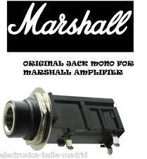 "ORIGINAL MARSHALL 1/4"" 6.35mm MONO INPUT JACK PC MOUNT TUBE AMP AMPLIFIER"