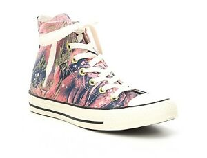 4b8cb6552e99 Converse Women s Size 8 Chuck Taylor® All Star® Satin Print Hi Top ...