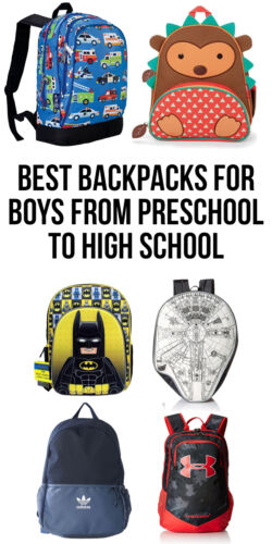 12 of the Best Backpacks for Boys from Preschool to High School