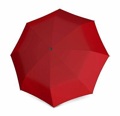 100% Vero Doppler Ombrello Duomatic Uni Red Morbido E Antislipore