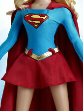 Tonner Fashion Doll Company Exclusive 16 inch Super Girl change out uniform!