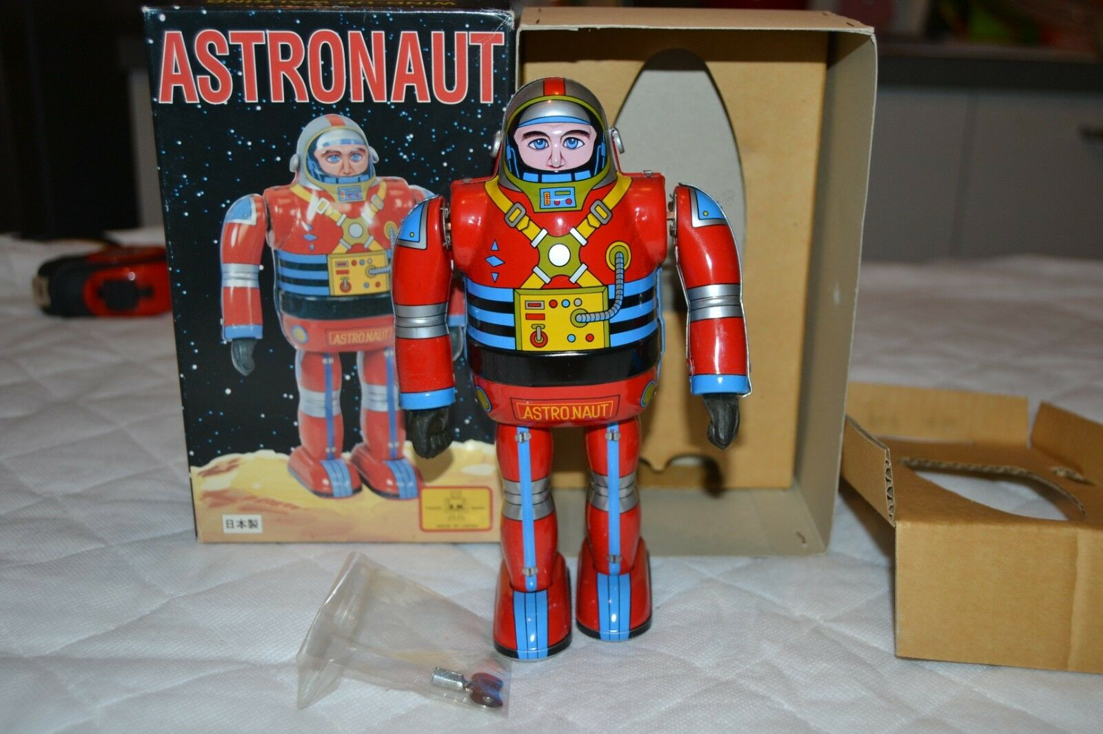 Tin toy Astronaut Osaka japan