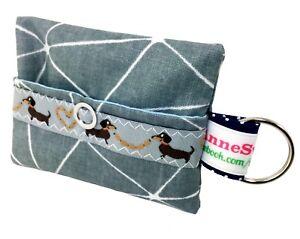 Kackbeutel-Hundetueten-Tasche-Hundekotbeutel-Spender-Waste-Bag-grau-splitter