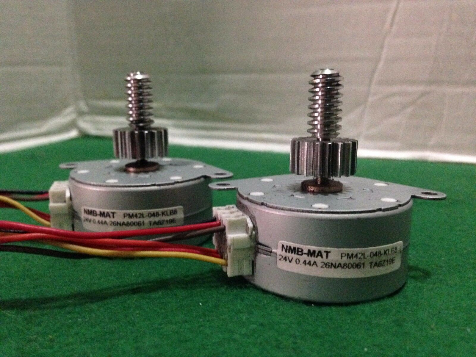 10 Stepper motors NMB-MAT PM42L 24V Free Shipping in USA PM42L-048-XRV4