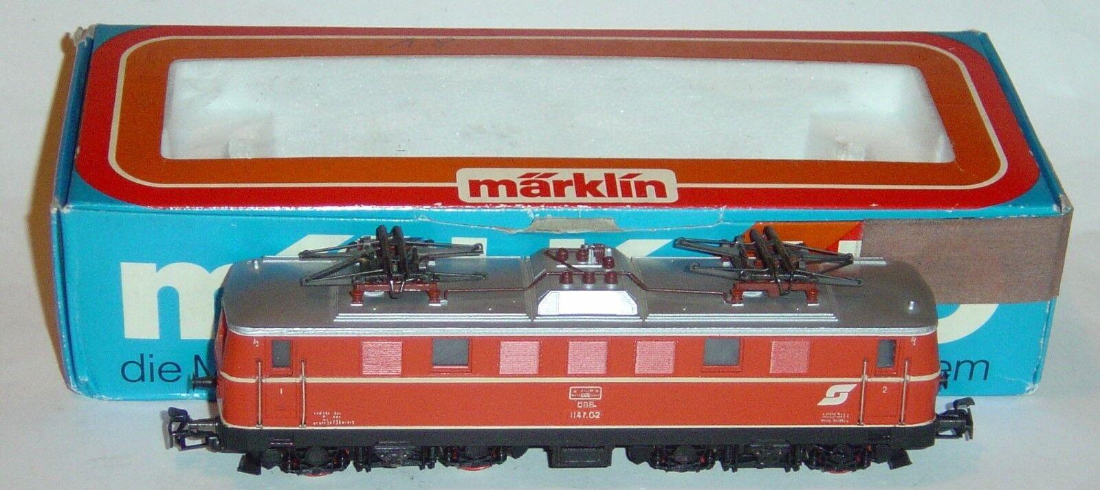 MARKLIN HO, LOCOMOTORA ELÉCTRICA REF. 3154 CON MOTOR NUEVO 5 POLOS, DIGITALIZADA