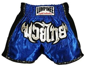 Lumpinee Muay Thai Shorts Boxing Shorts Retro Red Kickboxing Sizes 26/' to 44/'