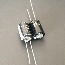100pcs 250V 10uF 250V NCC Nippon SMG 10x16mm Aluminum Electrolytic Capacitor