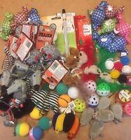 20 X  Bulk Buy Cat Kitten Toys Rod Fur Mice Bells Balls  Catnip BARGAIN JOB LOT